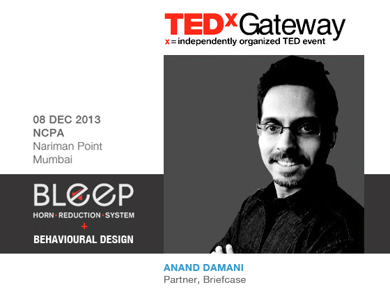 Behavioural Design talk at TEDxGateway