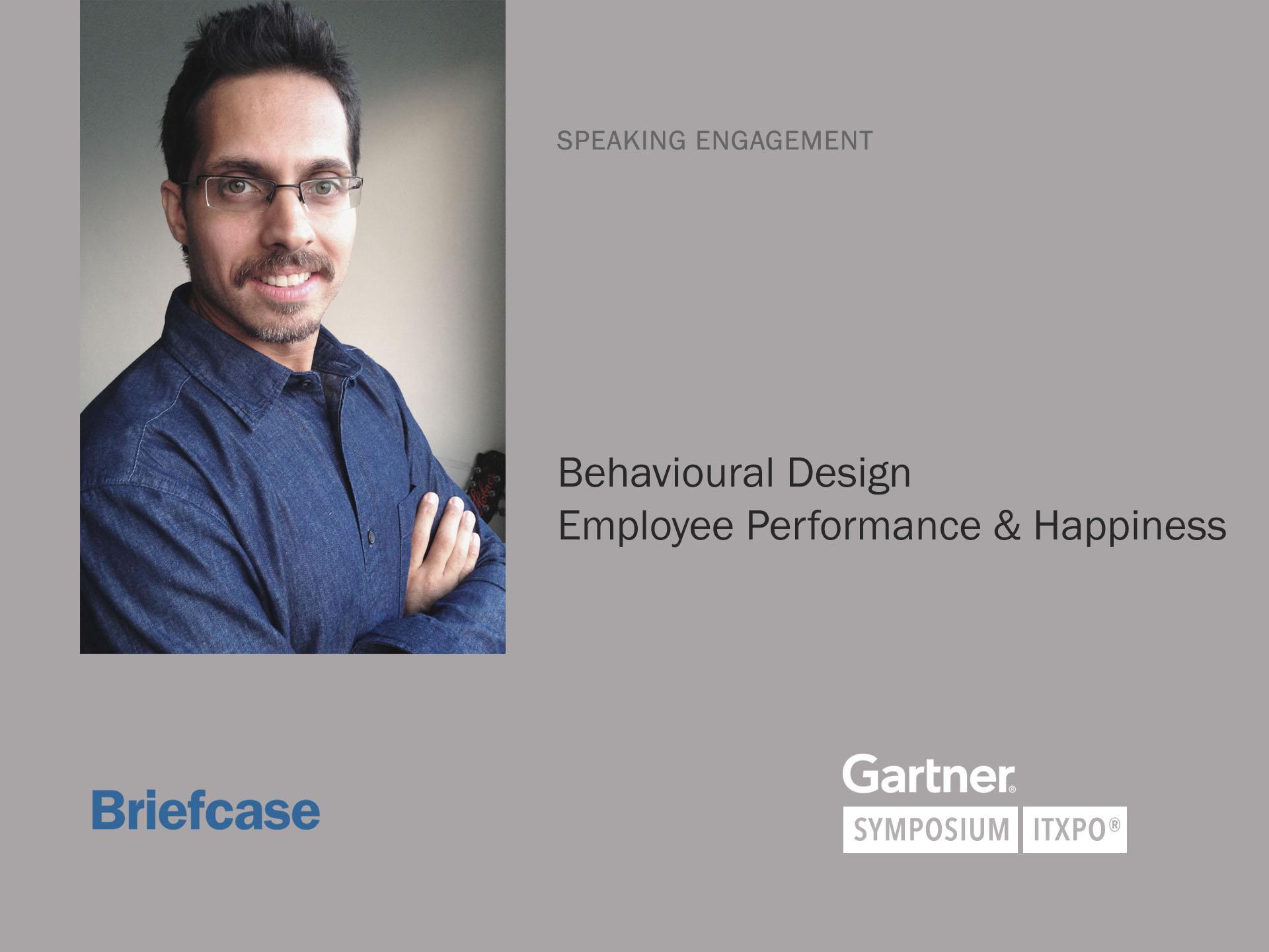 Employee performance and happiness talk (Gartner)